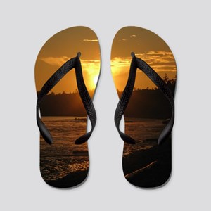 Birch Bay Sunset Flip Flops